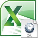 Excel Import Multiple XML Files Software icon