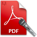 PDF Read Entire Documents Out Loud Software icon