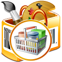 DRPU Barcode Software for Inventory Control and Retail Business icon
