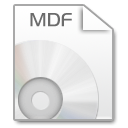 MDF to ISO icon