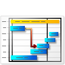 Gantt Chart For Workgroup icon