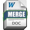 MS Word Merge Tool icon