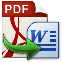 Wondershare PDF to Word icon