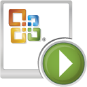 Microsoft Office PowerPoint Viewer icon