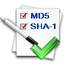 Free MD5 SHA1 Verifier icon