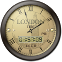 London Time Clock icon