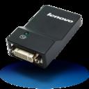Lenovo USB3.0 to DVI VGA Monitor Adapter icon