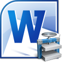MS Word File Size Reduce Software icon