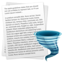 Apply Word Wrap To Multiple Text Files Software icon