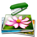 Join Multiple Image Files Together Side By Side Software icon