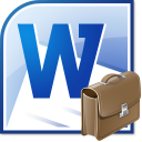 MS Word Work History and Education Resume Software icon