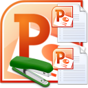 MS PowerPoint Join Multiple Presentations Software icon