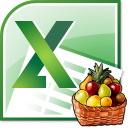 Excel Grocery List Template Software icon