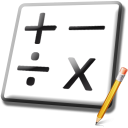 Math Flash Cards For Kids Software icon