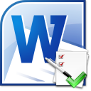 MS Word Spell Check Multiple Documents Software icon