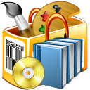 DRPU Barcode Software for Publishers and Library icon
