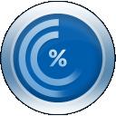HughesNet Usage Meter icon