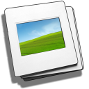 DVD slideshow GUI icon