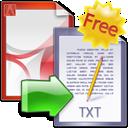 FM PDF Text Extractor icon
