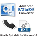 Advanced BAT to EXE Converter icon