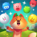 Animal Pop Party - Bubble Shooter: Forest Rescue icon