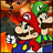 Super Mario Bros Rambo icon