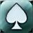 AI Texas hold'em poker icon