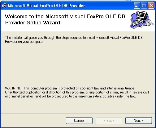 Microsoft OLE DB Provider for Visual FoxPro download for
