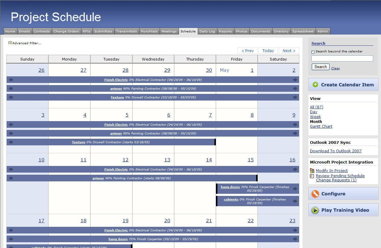 Forecast Scheduling with Microsoft Project 2010 Eric