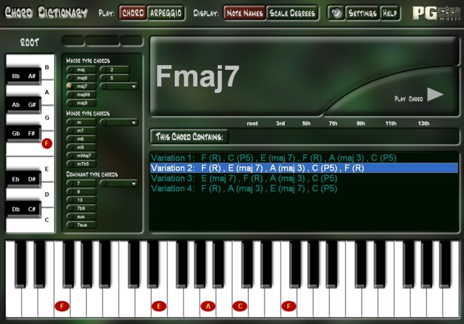 Piano Chord Dictionary Download For Free Getwinpcsoft