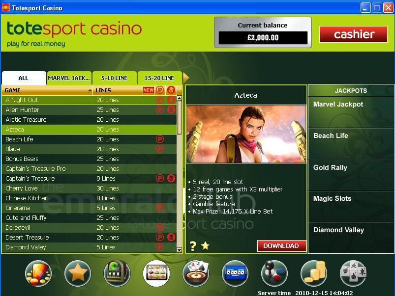 Tote Sport Casino