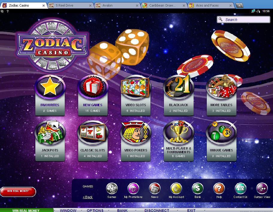 Zodiac Casino Tricks