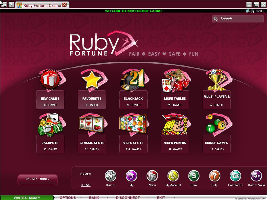 Ruby Fortune Casinomeister