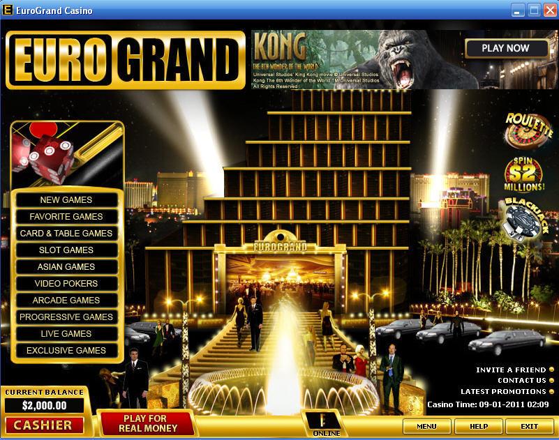 Eurogrand Casino Download