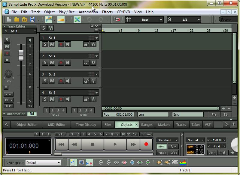 Magix Samplitude Pro X - Sound On Sound