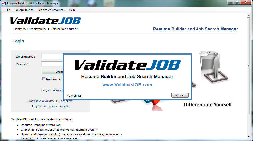 resume builder and job search manager latest version