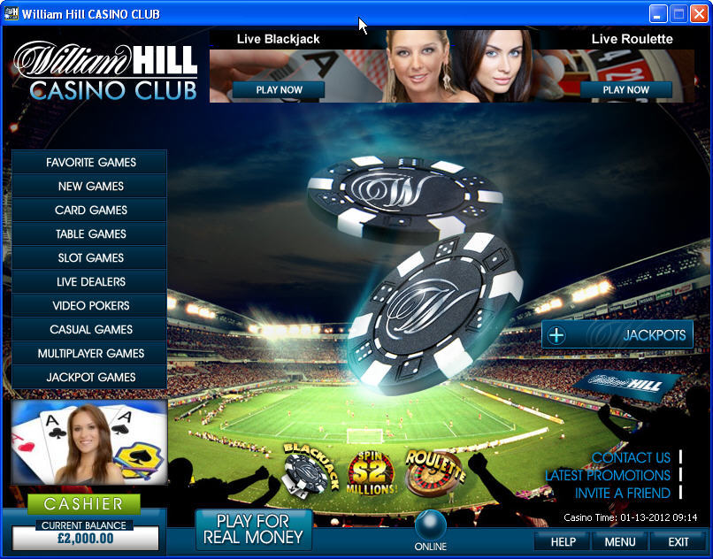 William hill roulette casino