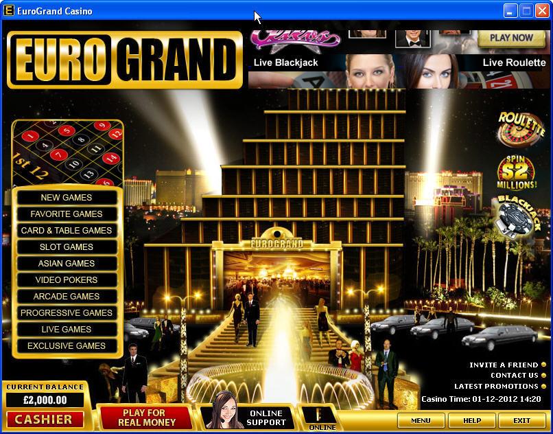 Casino Eurogrand Download
