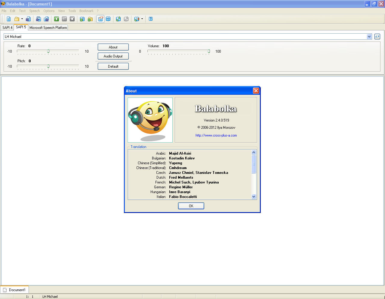 Balabolka download for free - GetWinPCSoft