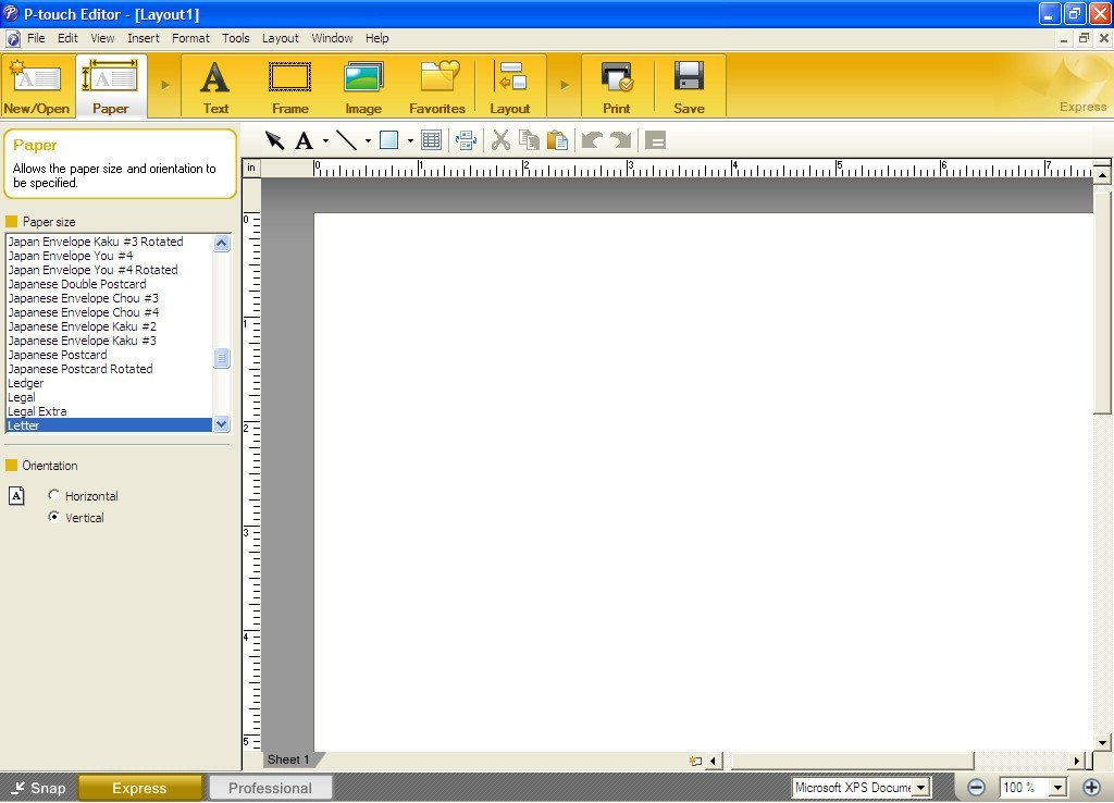 It is a photo of Transformative Brother P Touch Label Software Download
