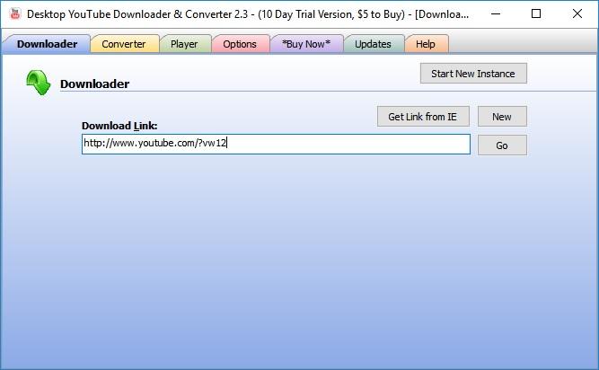 desktop youtube downloader