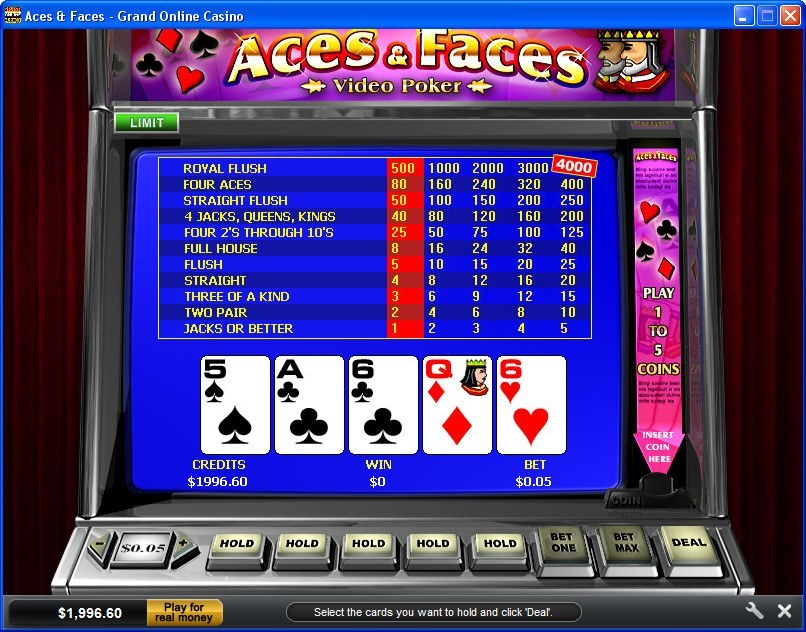 Grand Online Casino Download