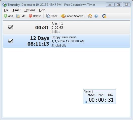 Free Countdown Timer latest version - Get best Windows software