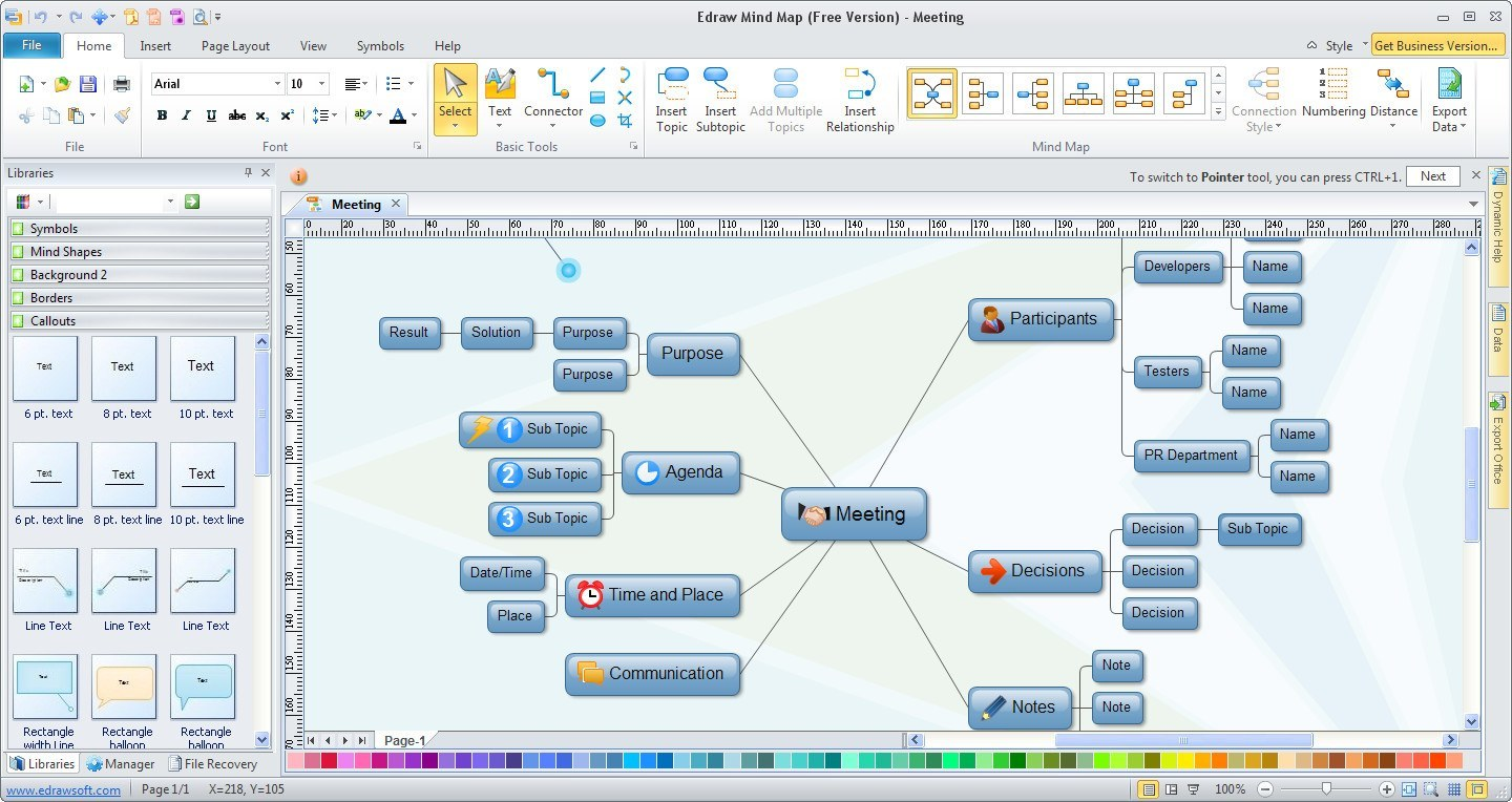 free mind map software for windows 8