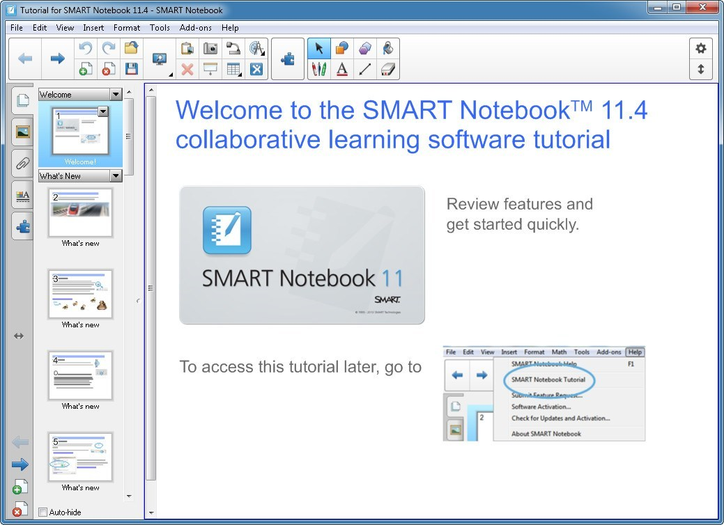 How to get lines on smart notebook