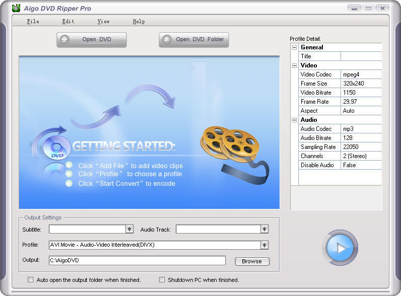 Aigo Video Converter Pro - Free downloads and reviews ...
