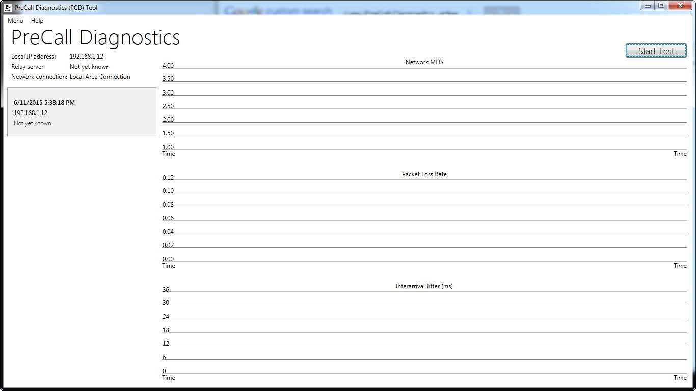 Lync 2013 Pre-Call Diagnostic Tool download for free