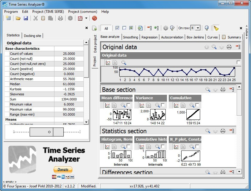 project on time series A new case study example series on you canalytics involving forecasting and time series analysis to future demand forecast for a manufacturing operations.