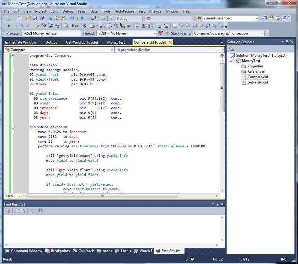 Micro Focus Visual COBOL for Visual Studio 2013 download for