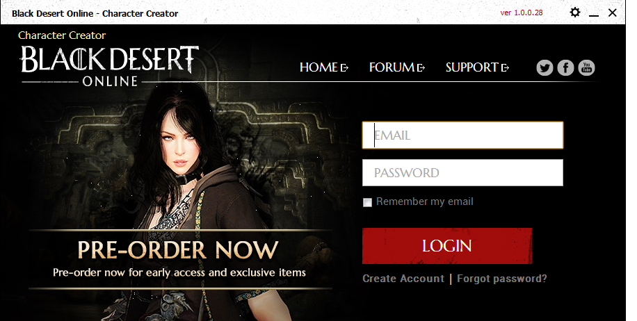 Black Desert Character Creator Download For Free Getwinpcsoft